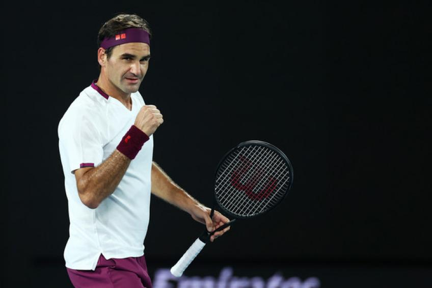 Football star: 'Roger Federer was ridiculous, winning 12 Majors between..'