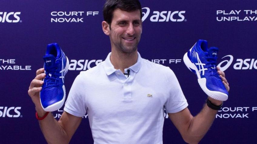 ASICS insider speaks on working with Novak Djokovic