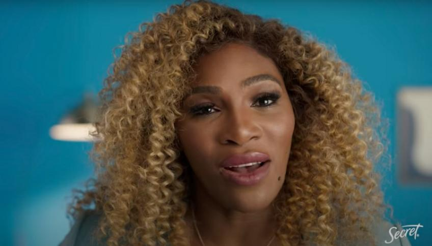 Serena Williams Features in New Mothers Day Campaign by SECRET