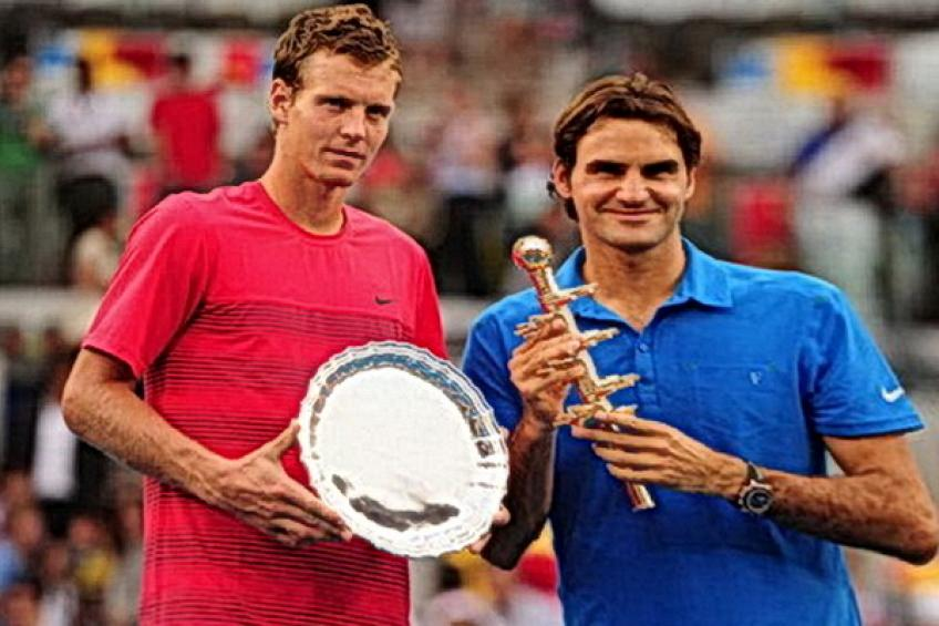 ThrowbackTimes Madrid: Roger Federer reigns over Tomas Berdych on blue clay