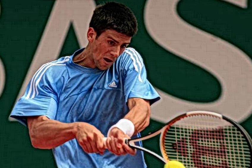 Young Novak Djokovic:'I hope to solve breathing problems as soon as possible'