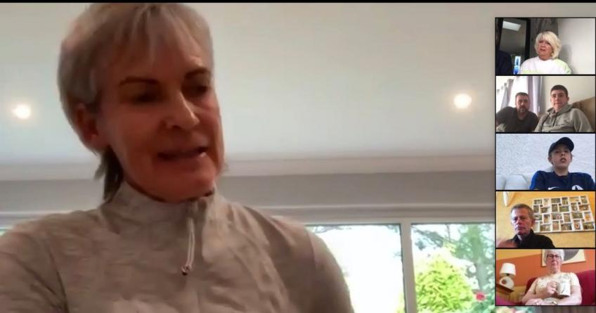 Judy Murray: Every minute on the iPad, computer or laptop has been a real saviour