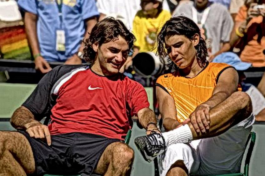 In Rafael Nadal's words: 'I was surprised when Roger Federer threw racquet..'