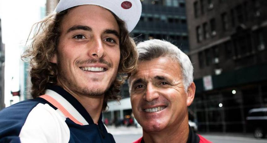 Stefanos Tsitsipas post sharing his father's difficult journey and life story