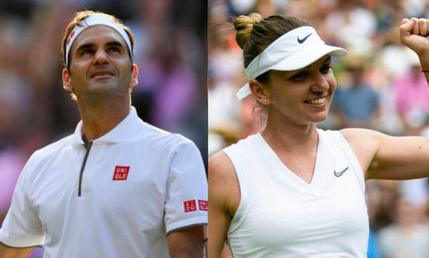 Simona Halep reveals what she thinks of Roger Federer's proposal