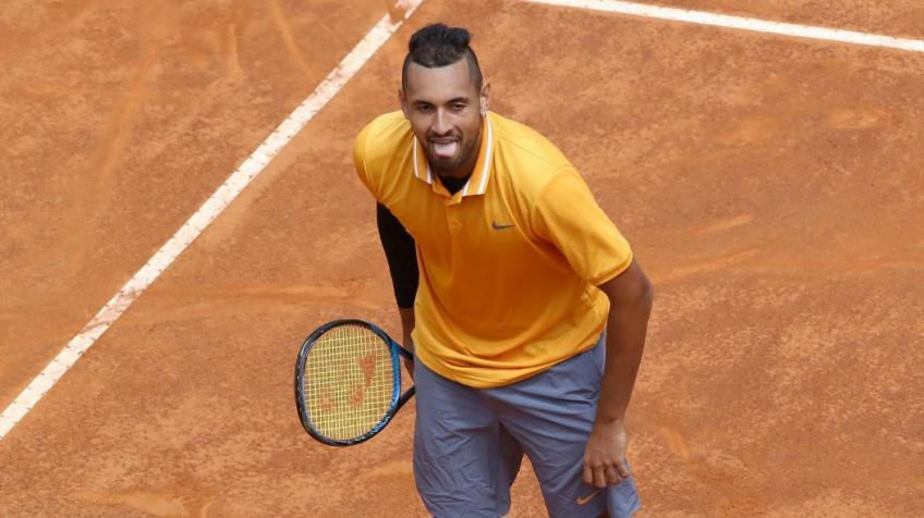 Watch: OTD - Nick Kyrgios puts on an absolute show against Daniil Medvedev in Rome