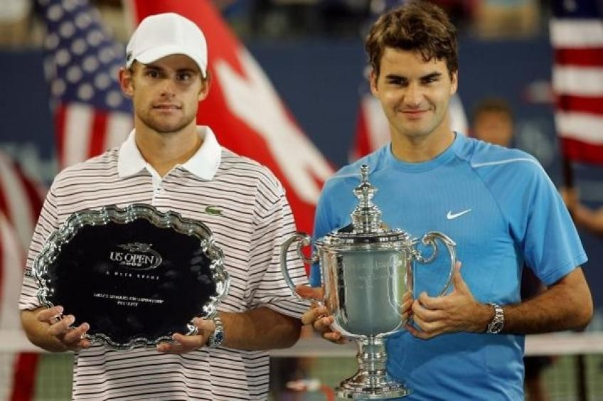 Roddick: 'Roger Federer was the best defender and aggressive player at the same time'