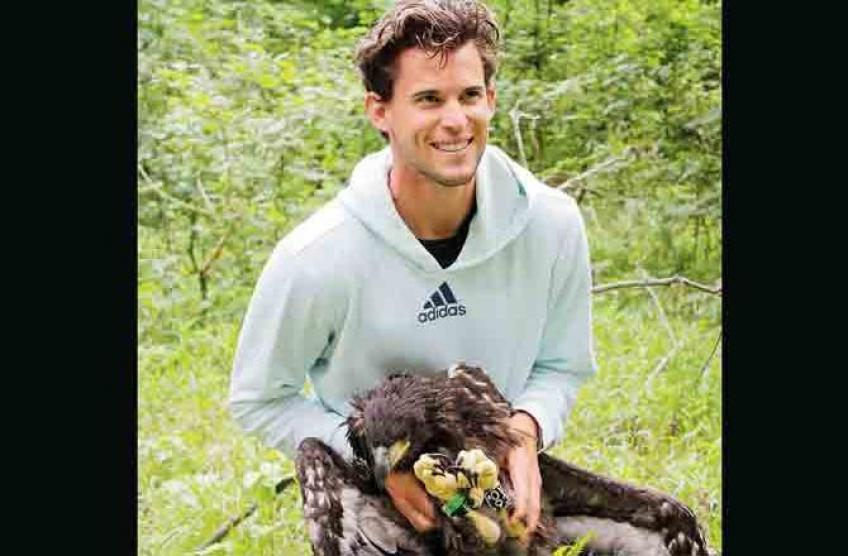 Dominic Thiem helps WWF Austria with Eagle Conservation Programme