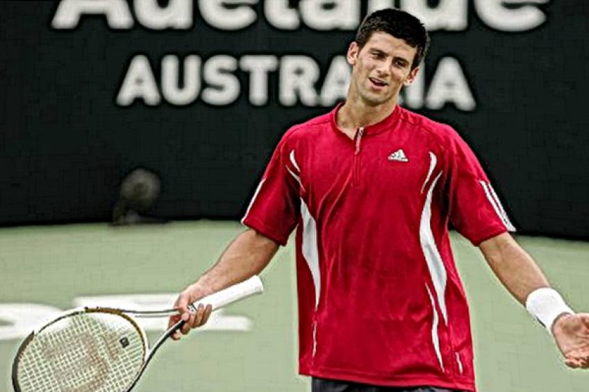 In Novak Djokovic's words: 'I have a little pain in my shoulder and biceps but..'