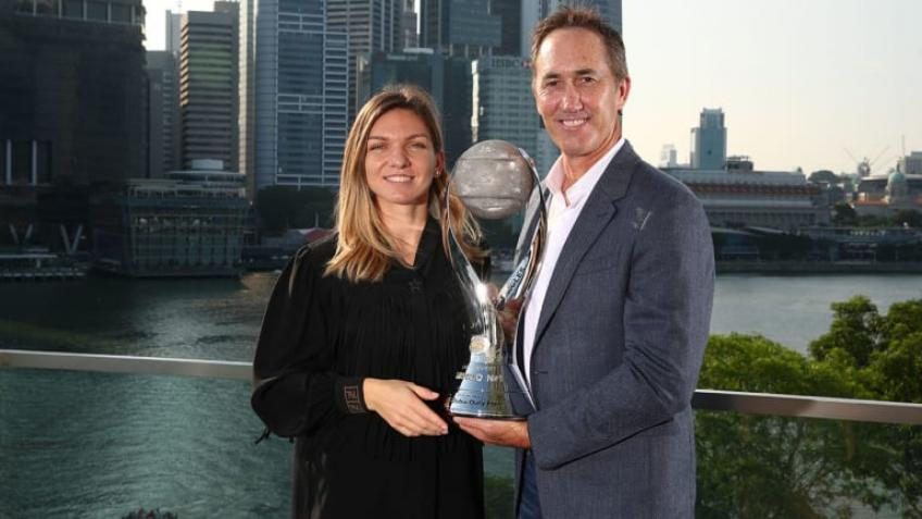 Simona Halep talks about the split from Darren Cahill in 2019