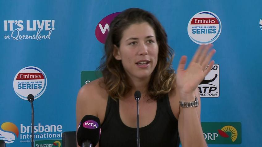 Garbine Muguruza: Fortunate to have Conchita Martinez as a coach