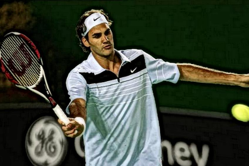 Novak Djokovic:'Roger Federer can play every shot with ease'