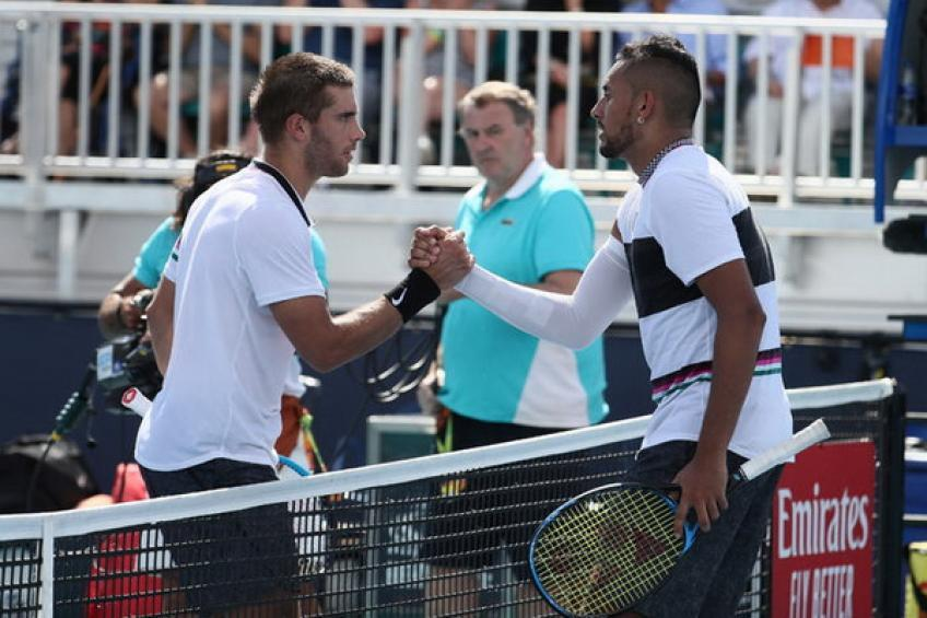 Borna Coric: Nick Kyrgios is incredibly entertaining for game and I respect his way