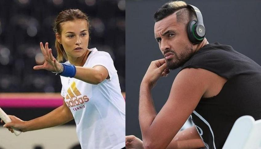 Anna Kalinskaya on Nick Kyrgios: He is a great player and nice person