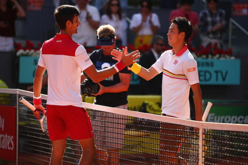 ThrowbackTimes Madrid: Novak Djokovic earns important win over Kei Nishikori