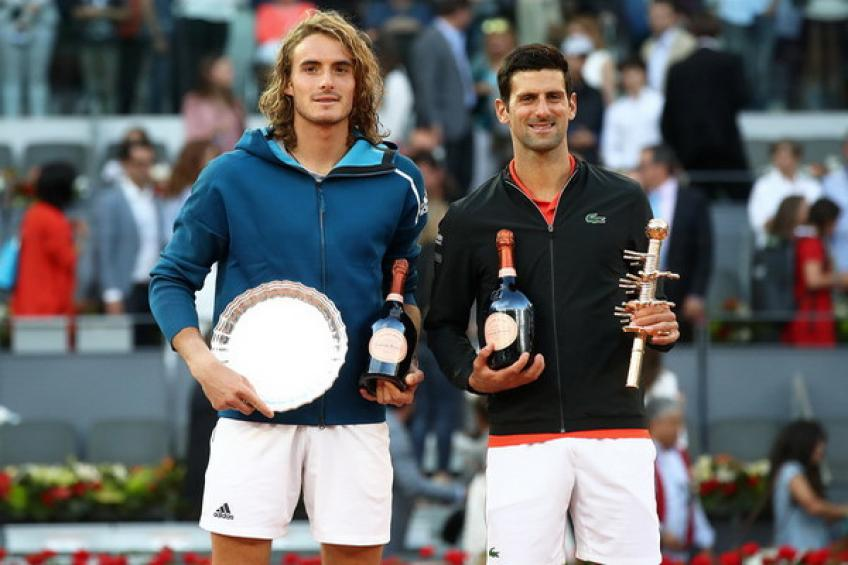 ThrowbackTimes Madrid: Novak Djokovic tops Tsitsipas to catch Rafael Nadal