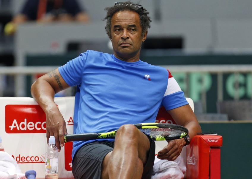 Yannick Noah says players can use the break to make improvements in their game