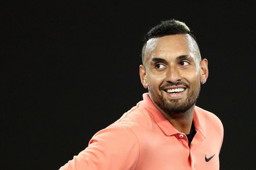 Nick Kyrgios said he slept with his fans!