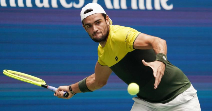 Matteo Berrettini on his ankles and Ajla Tomljanovic's parents