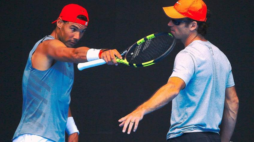 Moya: 'Rafael Nadal picks things from one or from another'