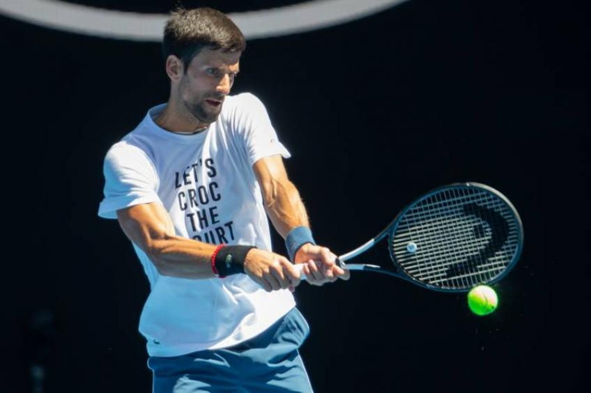 Novak Djokovic: I practiced every day during lockdown but didn't want to post it