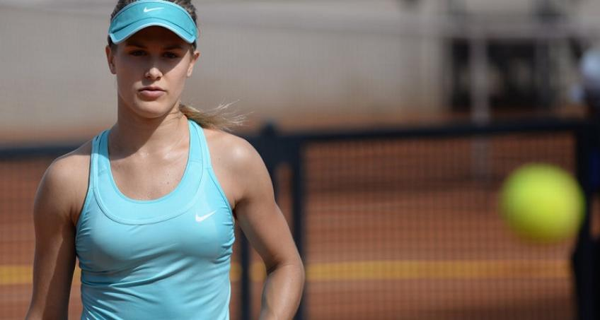 Eugenie Bouchard on dating: Hard to meet people in person since I'm always travelling