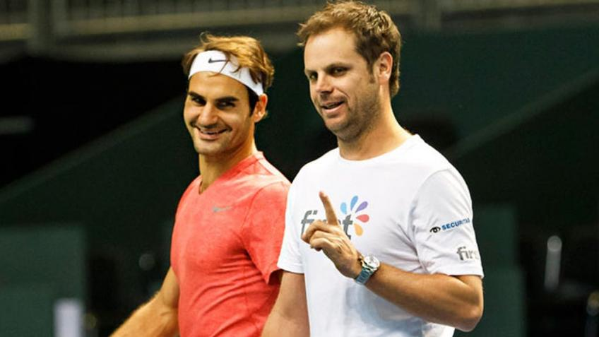 Severin Luthi: Roger Federer is funnier than most people might think