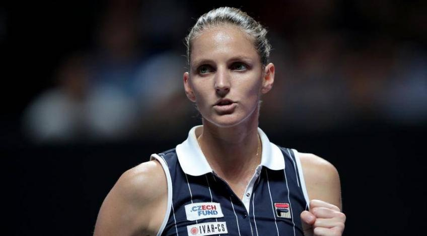 Karolina Pliskova: I am happy to resume training with coach Vallverdu