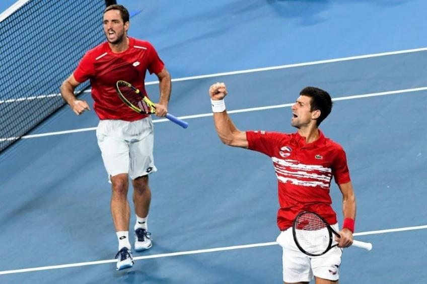 Viktor Troicki speaks highly of Novak Djokovic's Adria Tour