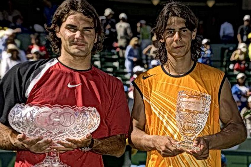 In Rafael Nadal's words: 'I played well against Roger Federer in Miami'