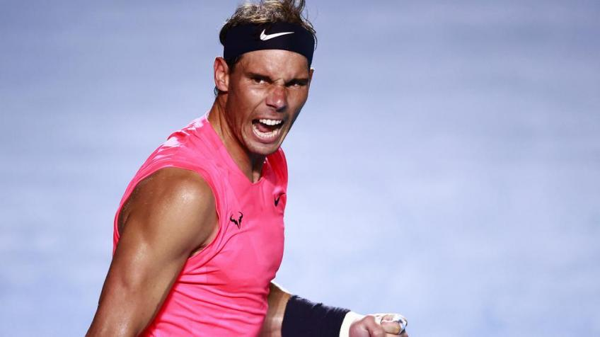 Rafael Nadal's coach: Hope this break will help him so we can see him longer on tour