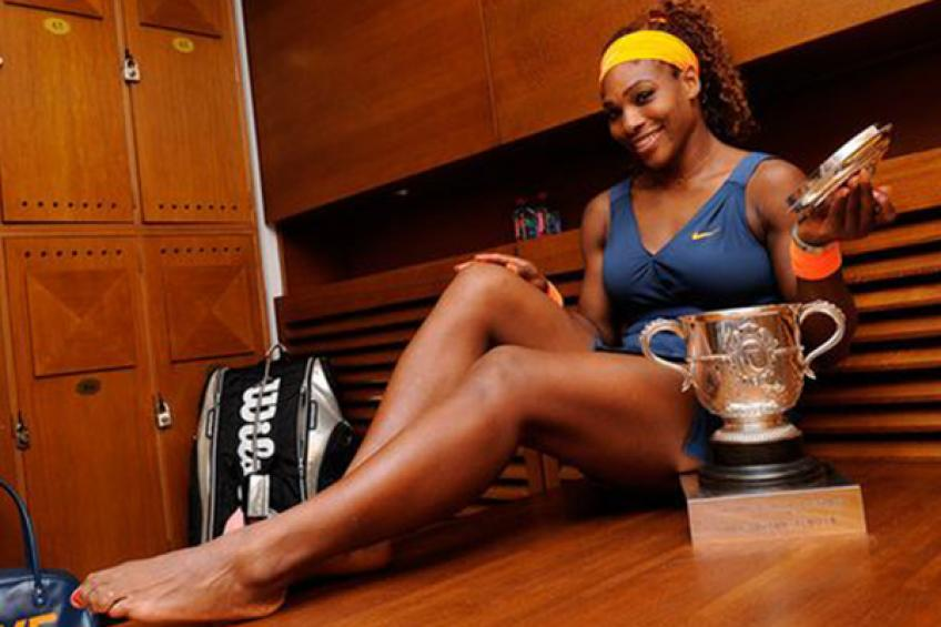"""Serena Williams spotted stripped: """"I've been shocked for a week! She is very big"""""""