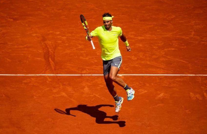 Rafael Nadal: 'We have replaced the French Open terrace with Zoom'