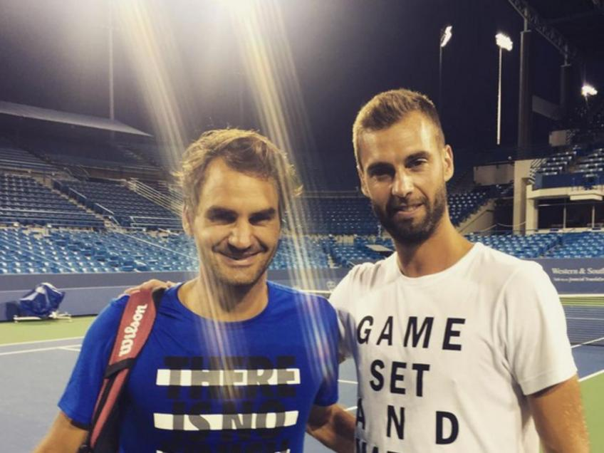 Benoit Paire: If I played doubles with Roger Federer, even I would have won a medal