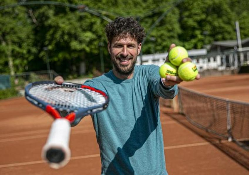 Robin Haase starts 'Hit the ball' campaign in Netherlands
