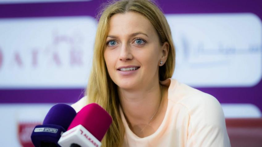 Petra Kvitova on playing without fans: It will be a very tough decision