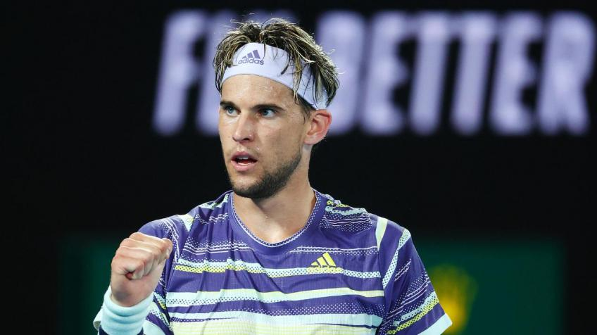 Dominic Thiem on Big Three, believing he would one day be pro tennis player