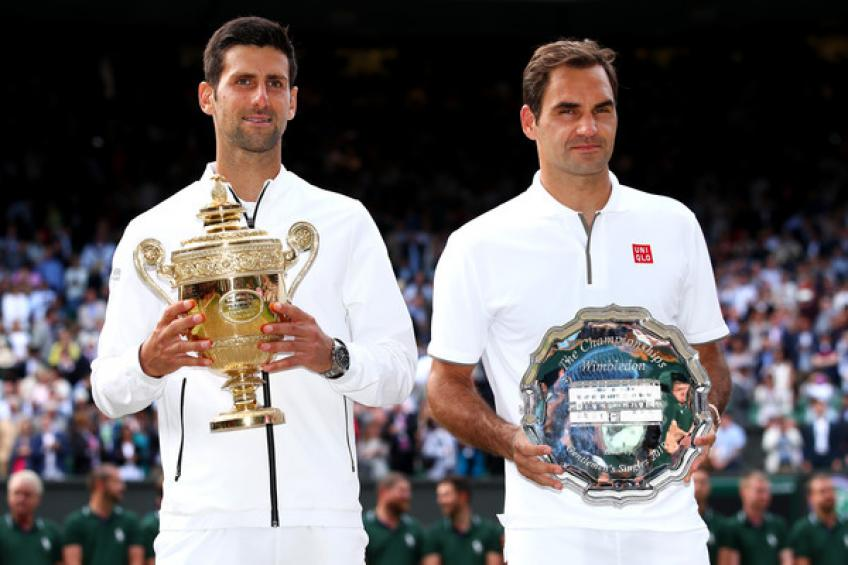 Roger Federer: 'I don't think about Wimbledon's match points against Novak Djokovic'