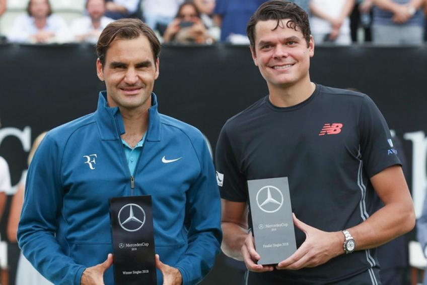 ThrowbackTimes Stuttgart: Roger Federer downs Milos Raonic to win the title