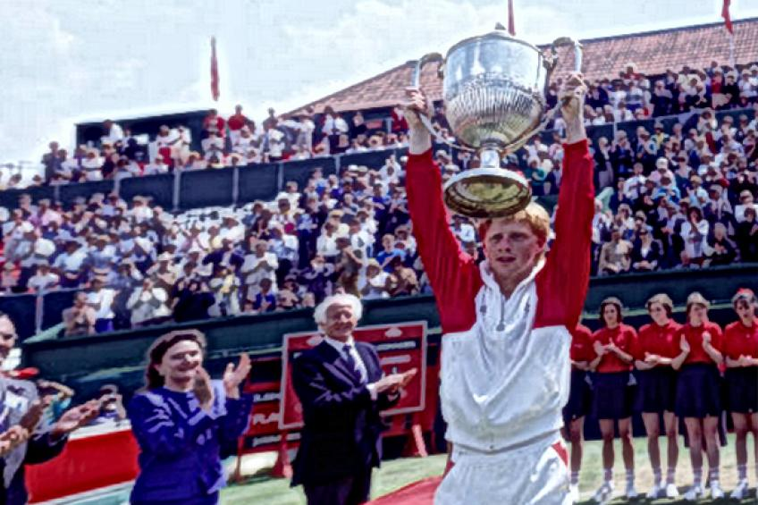 ThrowbackTimes Queen's: Boris Becker ousts Jimmy Connors to regain title