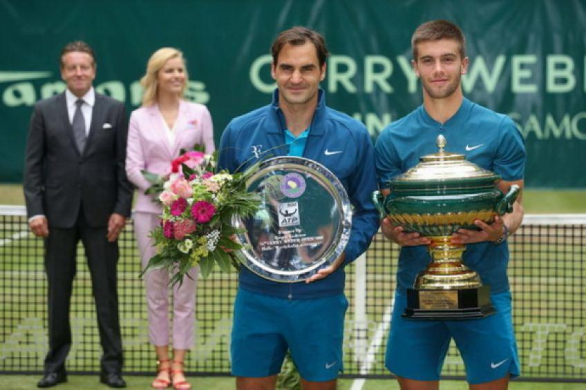 ThrowbackTimes Halle: Borna Coric stuns Roger Federer to win title
