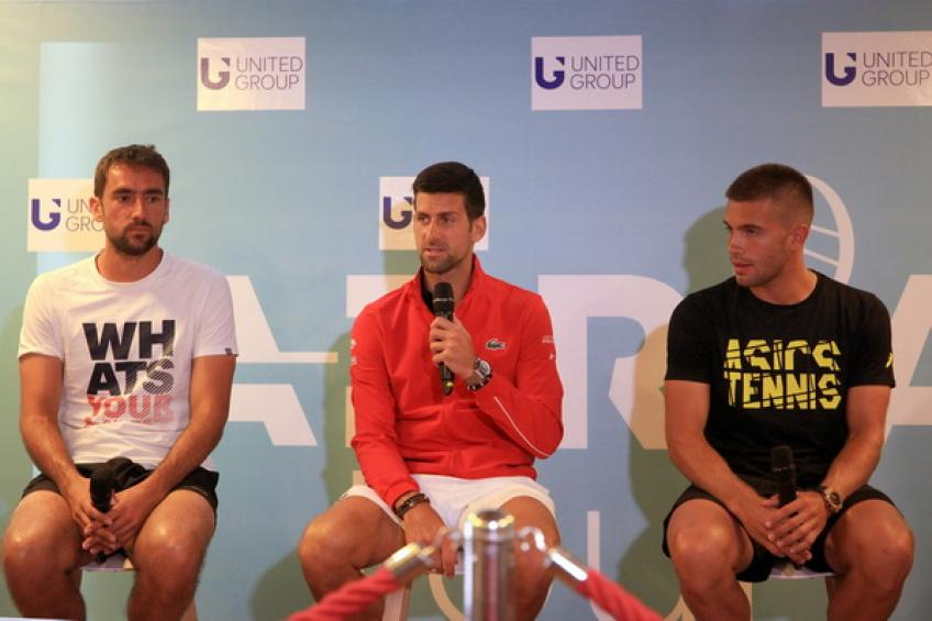 Borna Coric: 'Novak Djokovic is one of the greatest players of all time'