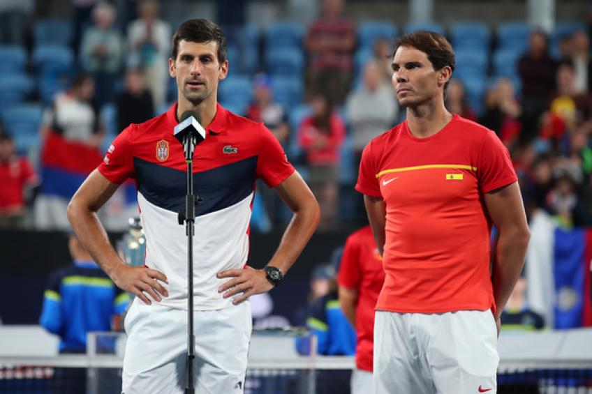 Toni Nadal: 'Rafael Nadal and Novak Djokovic might choose to play only one Major'