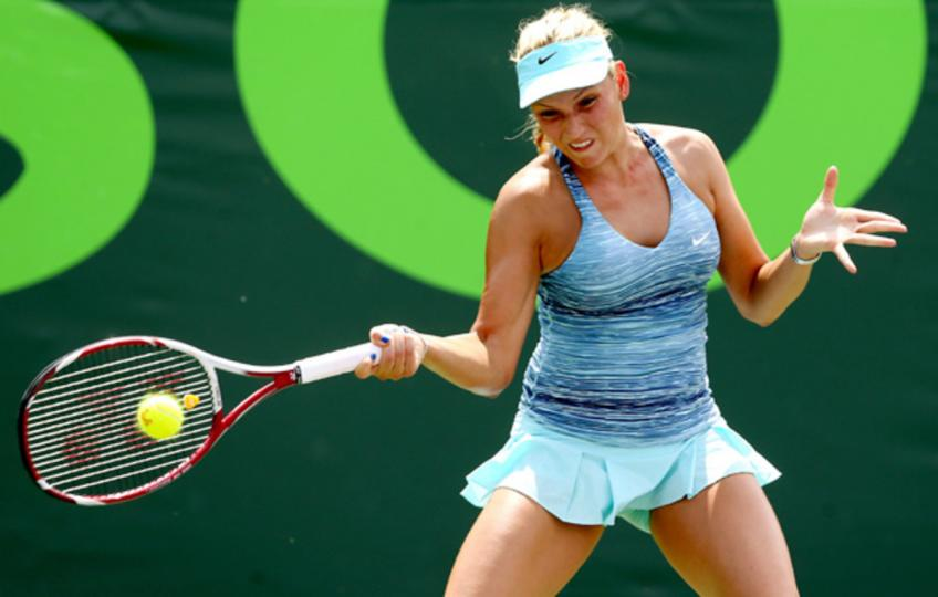 Donna Vekic says she has tested negative and will re-test on Friday