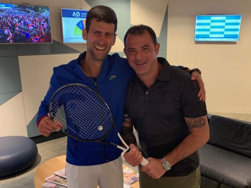 Serbian football legend Dejan Stankovic defends Novak Djokovic