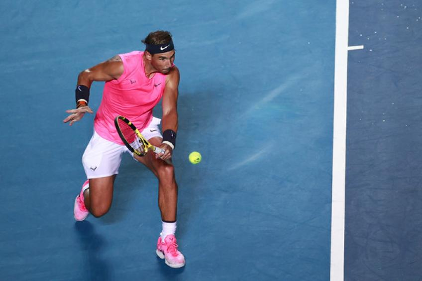 'Rafael Nadal never threw a racquet because I didn't allow him,' says Toni Nadal