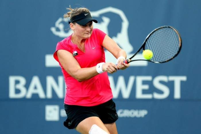 WTA Indian Wells - Mallory Burdette upsets Tamira Paszek to reach the third round