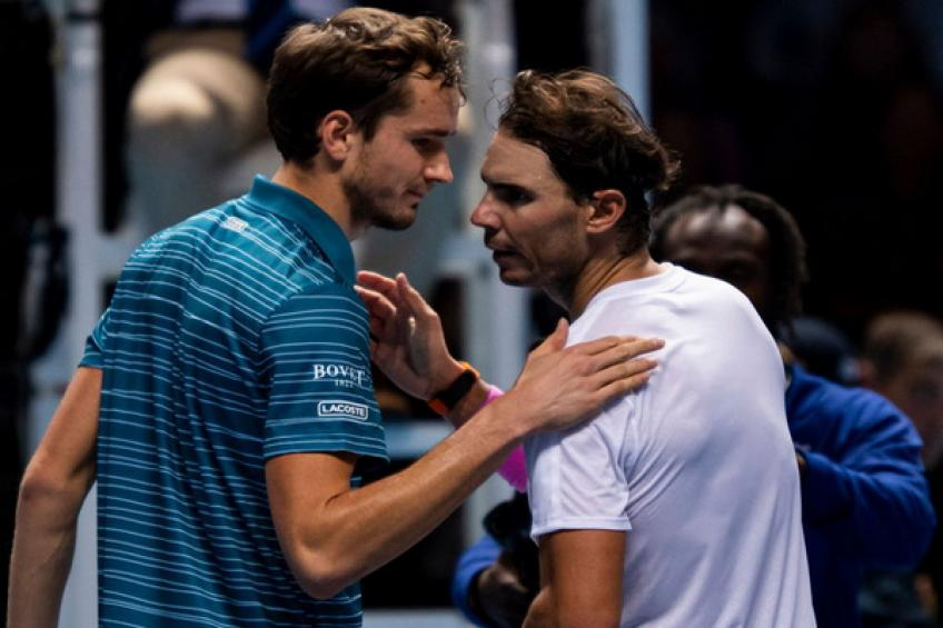 Daniil Medvedev: 'I would love to play the match point against Rafael Nadal again'