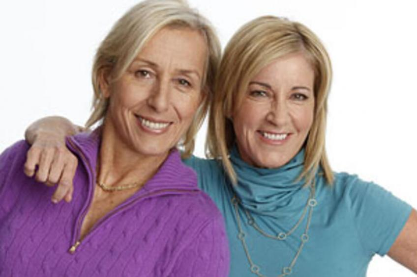 Chris Evert: Martina Navratilova is definitely one of my closest friends right now