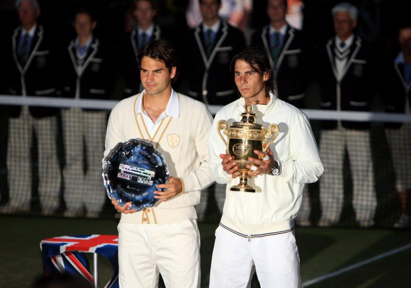 Rafael Nadal admits to being jealous of Roger Federer in one respect - Tennis World USA